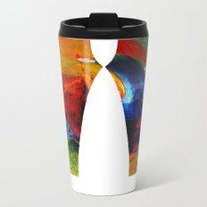 Cool Colorful Leggings Metal Travel Mug
