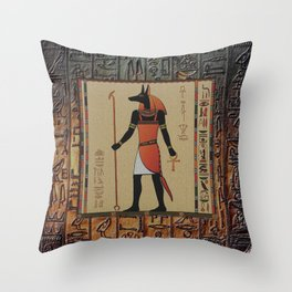 ANUBIS Throw Pillow