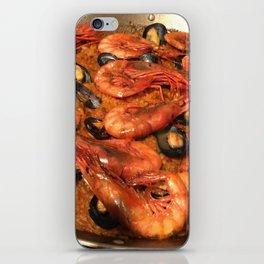 Shrimp Mussel Rice iPhone Skin