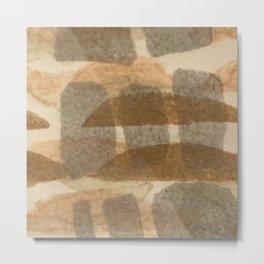 Tipping Stones Metal Print