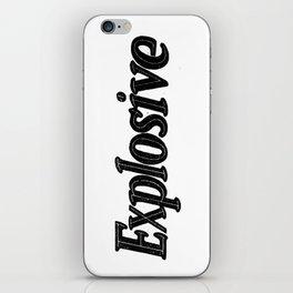 Explosive iPhone Skin