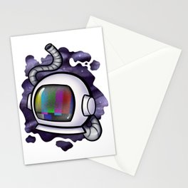 The Static of Space Stationery Cards
