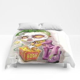 I Started A Joke Comforters