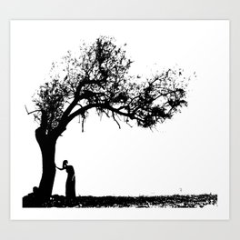 a story of a tree Art Print
