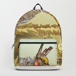 Lesser Prairie Chicken Backpack
