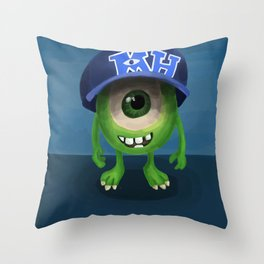 Mike (Monsters University) Throw Pillow