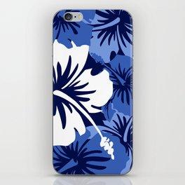 Epic Hibiscus Hawaiian Floral Aloha Shirt Print iPhone Skin