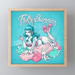 Fake Bunnies Framed Mini Art Print
