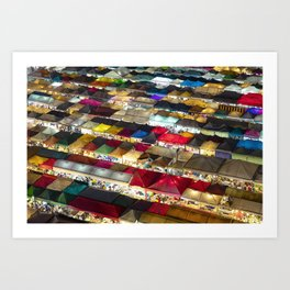 Colors and atmosphere Art Print