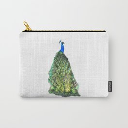 Indian Blue Peacock Carry-All Pouch
