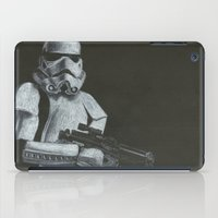 storm trooper iPad Cases featuring Storm Trooper by HCobbler