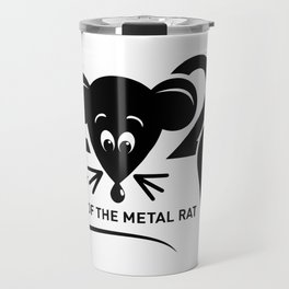 2020 year of the metal rat Chinese new year Travel Mug