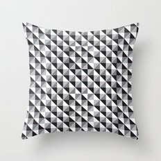 Typoptical Illusion A no.3 Throw Pillow