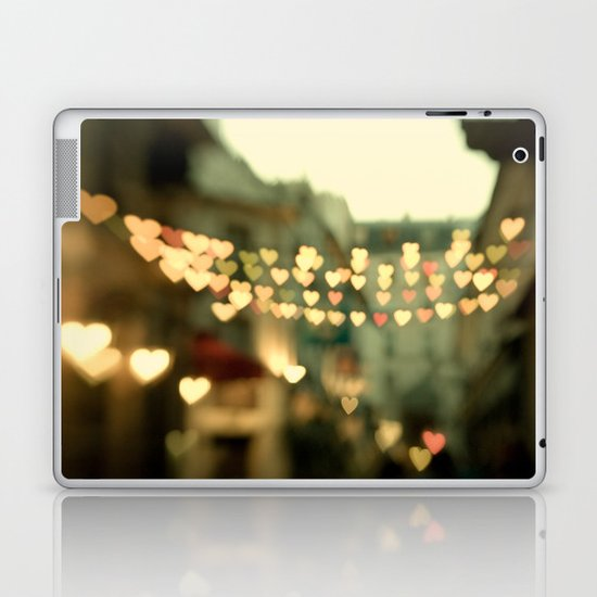 Looking for Love - Paris Hearts Laptop & iPad Skin