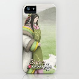 aKross the sky - Inari iPhone Case