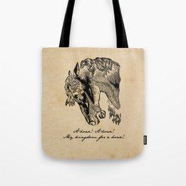 Shakespeare - Richard III - Kingdom for a Horse Tote Bag