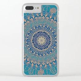 Colourful Mandala #2 - LaurensColour Clear iPhone Case