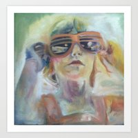 The Future is So Bright Art Print