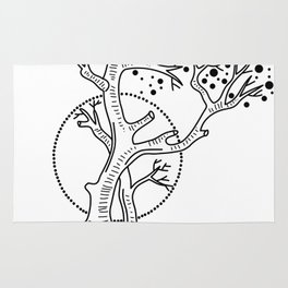 Tree of Life Sign Rug