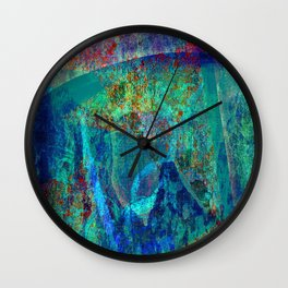 Abstract - Paintng Wall Clock