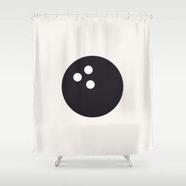 Bowling - Balls Serie Shower Curtain