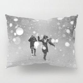 Snow in winter Pillow Sham