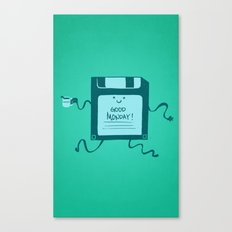 Save your great monday Canvas Print