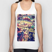 comics Tank Tops featuring Comics by Miss-Lys