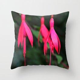 Pink Petals 1 Throw Pillow