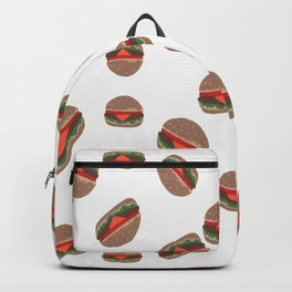 Its Raining Cheeseburgers Backpack