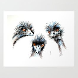 Here's looking at you, kid Art Print