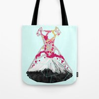 blossom Tote Bags featuring BLOSSOM by Ceren Kilic