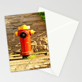 Red Hydrant Stationery Cards