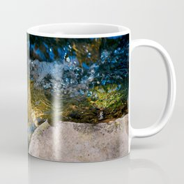 Clean Fresh Pure Water Of A Forest Brook Coffee Mug