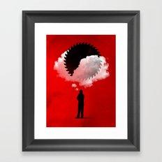 Bad Idea Framed Art Print
