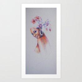 Hello Oshun Art Print