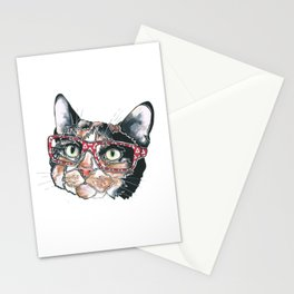 Amy the Calico Cat Stationery Cards