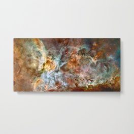 Carina Nebula, Star Birth in the Extreme - High Quality Image Metal Print