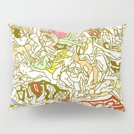 Kamasutra LOVE - Retro Yellow Pillow Sham