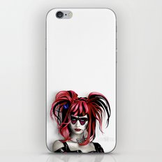 A Real Butterfly Girl iPhone & iPod Skin