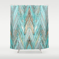 Wood Texture 1 Shower Curtain