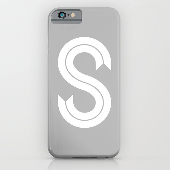 THE LETTER S iPhone & iPod Case