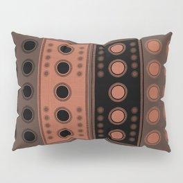 """Tribal Rosewood Stars"" Pillow Sham"