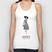 aries Tank Tops featuring Aries by Cansu Girgin