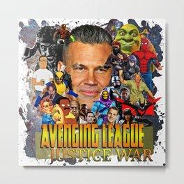 Avenging League Metal Print