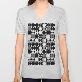 pattern motif 7 Unisex V-Neck