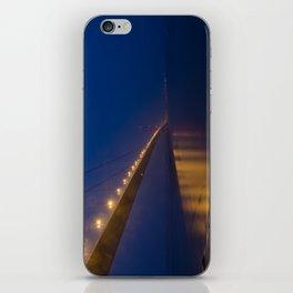 Humber bridge twilight iPhone Skin