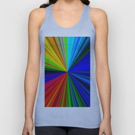 Spectrum - Fractal Art Unisex Tank Top