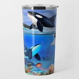 THE ORCA FAMILY Travel Mug