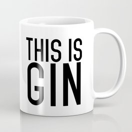 THIS IS GIN (INVERTED) Coffee Mug
